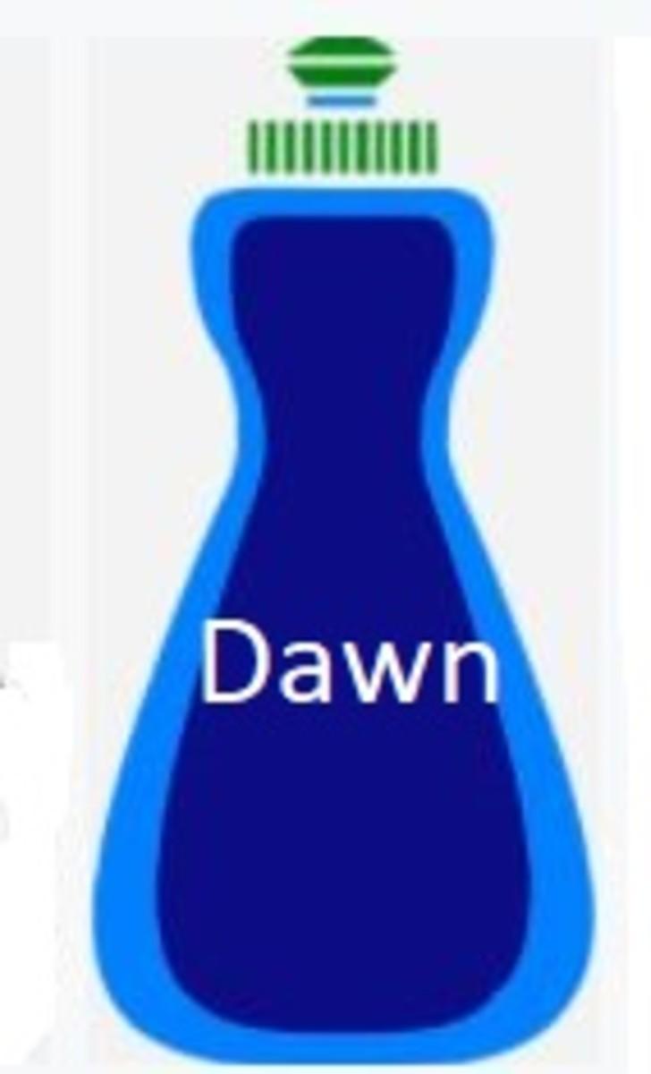 dog dawn detergent