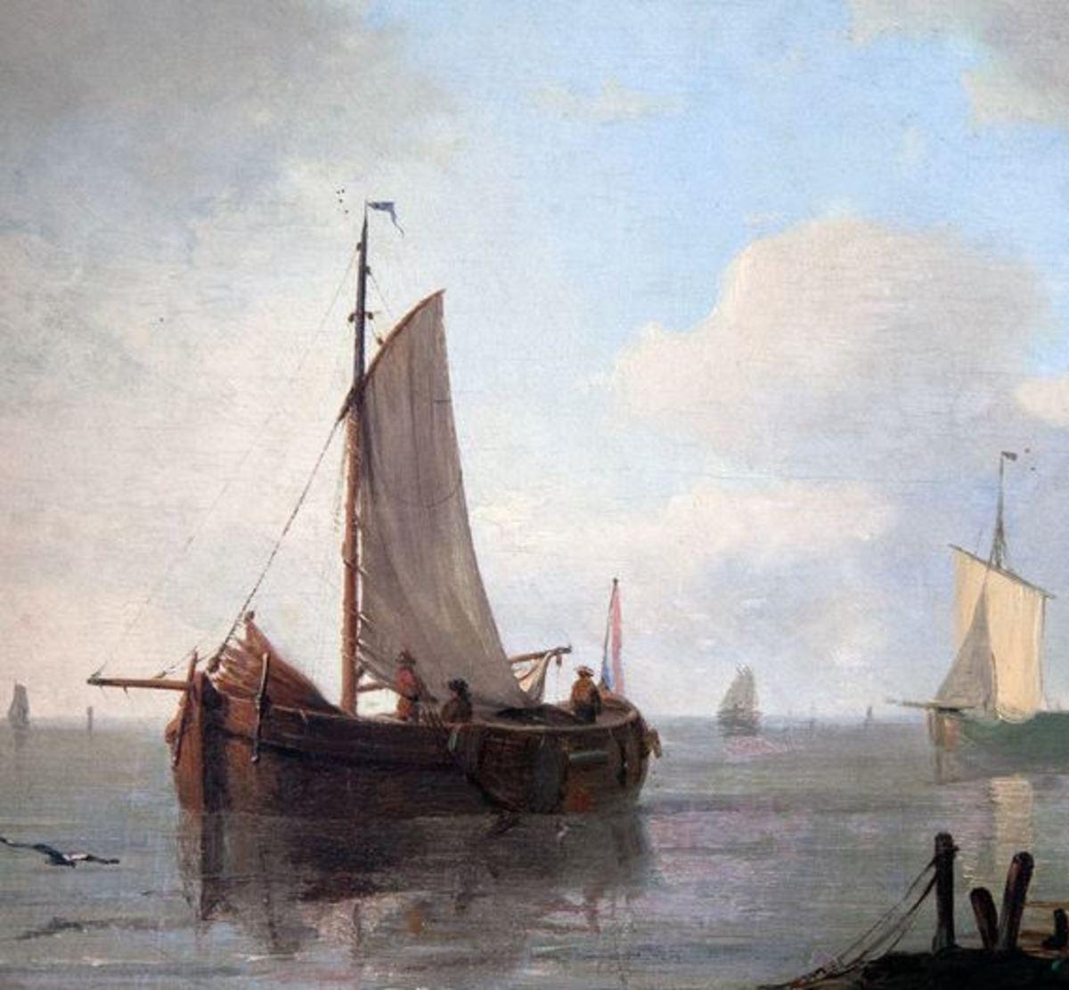Dutch barges by Adam Silo