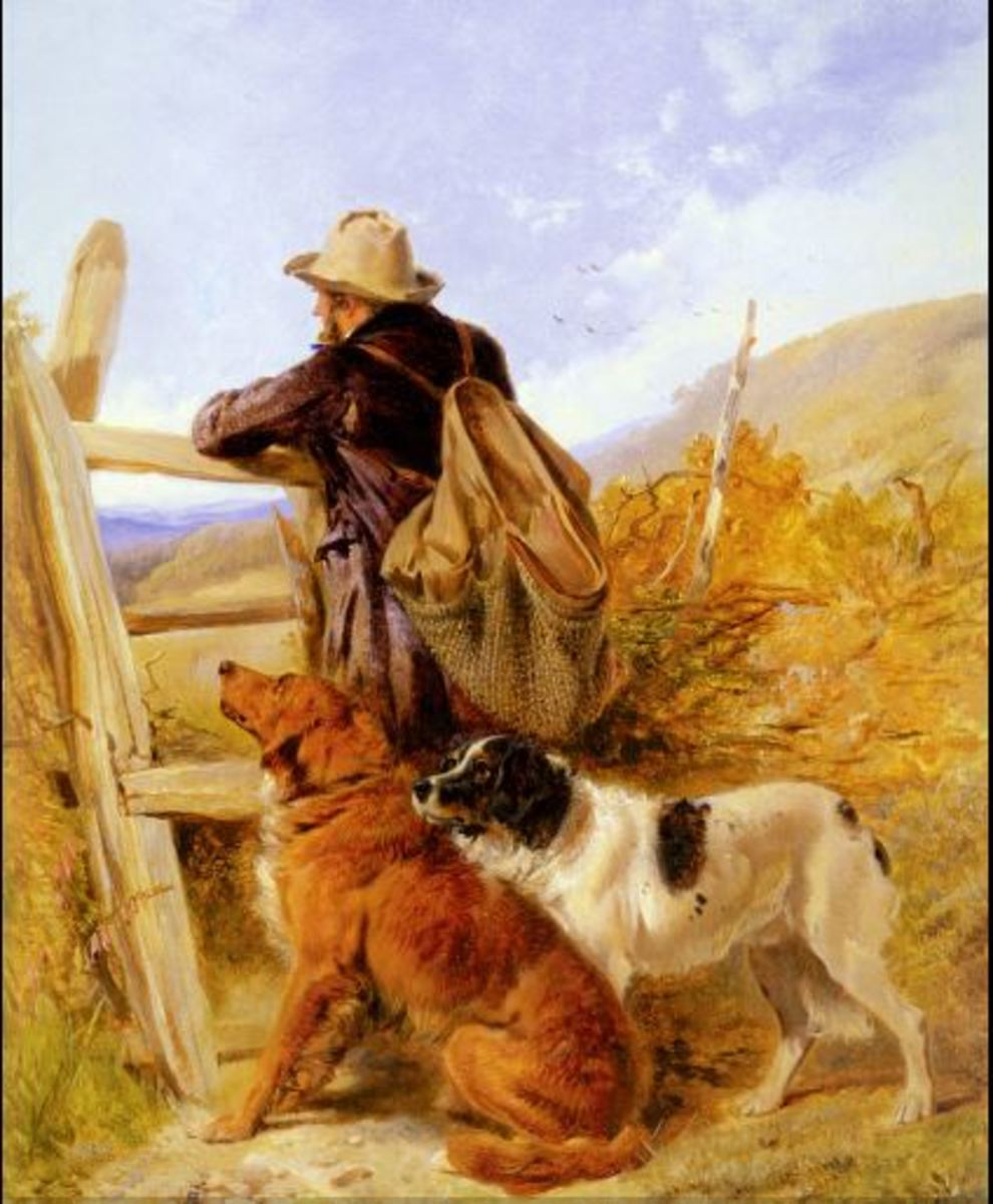 The Gamekeeper, by Richard Ansdell (1815–85)