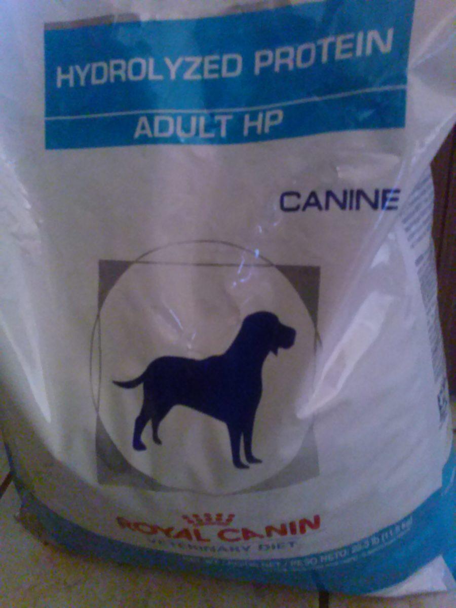 Hydrolyzed protein dog food brand: Royal Canin H/P